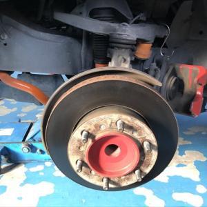 スポーツタイプブレーキローター&ブレーキパット交換