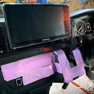 パノラミックビューモニター機能付き車両にナビ取付できました!