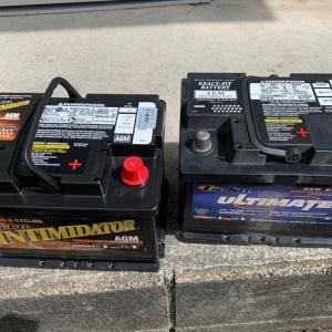 バッテリー交換と今日の作業紹介
