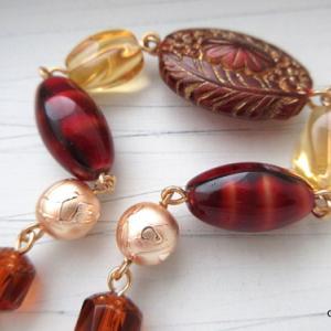 秋の羽織紐