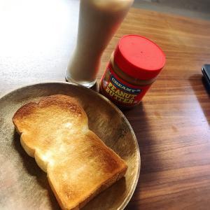 トーストとソイラテ