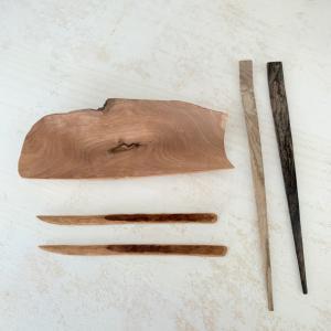 作品展での戦利品 ~ 木のもの
