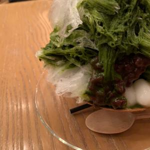 『HIGASHIYA GINZA』かき氷。これを食べなきゃ!私の夏は終わらない