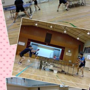 金曜日の体協練習(^_^)v