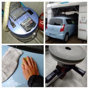プロの技、洗車の極意(^_^)v