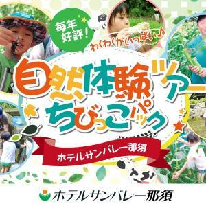 """【毎年大人気】自然体験ツアー"""" ちびっこパック"""""""