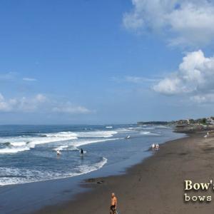 乾季のような波と天気