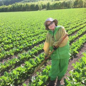 【さちえ】です~今日の農作業&クリシュナさんへ(*'▽')