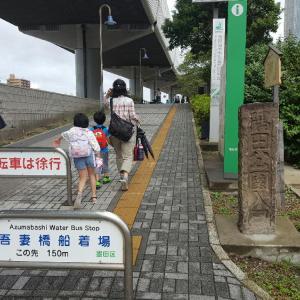 銅像クイズ near 吾妻橋