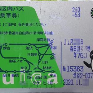 Suica に「都区内パス」