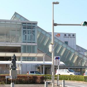 銅像クイズ121 静岡県 島田駅前