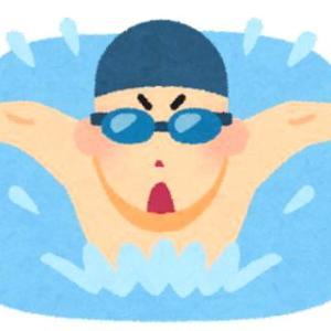 水泳のメドレー