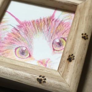 猫アートの原画を購入しました❣️