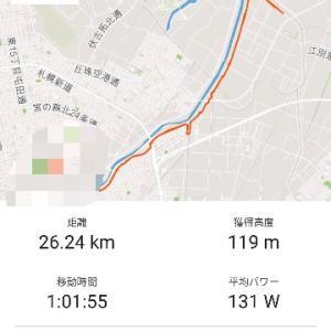 ◆朝練1h  ◆自転車通勤 ◆夜