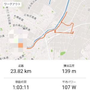 ◆朝練1h ◆帰宅後