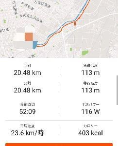 ◆朝練52min ◆夜
