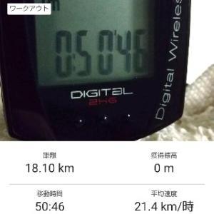 ■朝ローラー50min