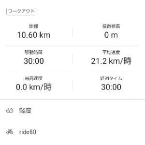 ■朝ローラー30min