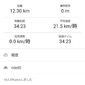 朝練ローラー34min
