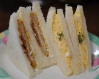 「ぎゅーとら」のサンドイッチ