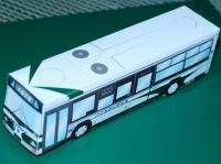 三重交通バスのペーパークラフト