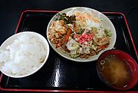 伊賀ドライブインの日替り定食