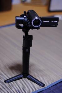 ビデオカメラ用に手ブレを抑えるジンバルを購入(俳聖殿 他 撮影)