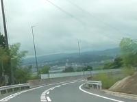 国道422号三田坂(みたざか)バイパスを車で南下した動画