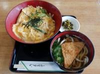 玉子丼セット(伊賀ドライブイン)