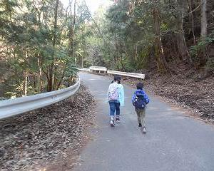 孫と猿投山へ行ってきました