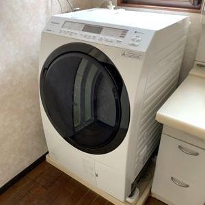 洗濯機がやってきた・・・