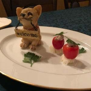 誕生日ディナー 犬編とデザート