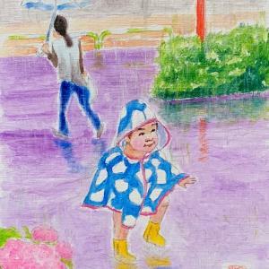 作品『雨の子』
