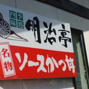 明治亭 駒ヶ根本店 ~ロース&ヒレかつ大盛丼~