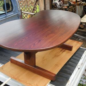 ソラマメ型テーブル完成・その他