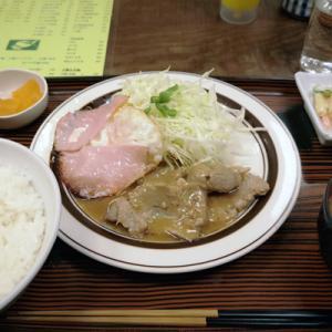 豚肉みそ焼@新宿 つるかめ食堂 歌舞伎町店