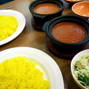 娘の希望でインドカレーなお昼@スパイスキッチン 狛江店