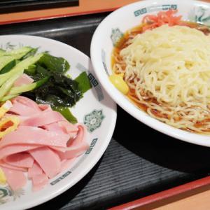 黒酢しょうゆ冷し麺@日高屋 豪徳寺駅前店