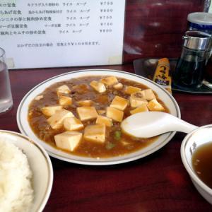 マーボ豆腐定食@松陰神社前「喜楽」