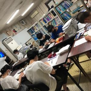 明日から津高試験開始