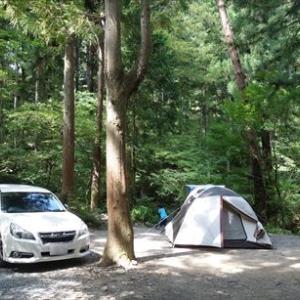 道志村キャンプ 1日目 ~椿荘オートキャンプ場~