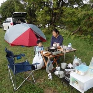 岩手、秋田旅行 3日目 ~森吉山登山、水沢温泉、田沢湖縄文の森キャンプ場泊~