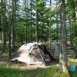 北信州旅行1日目 ~奥裾花湿原、白馬グリーンスポーツの森キャンプ場泊~