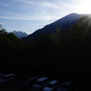 北信州旅行3日目 ~中の湯温泉、上高地ハイク~