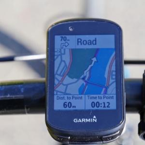 GARMIN EDGE530、自転車用GPSをレビューその3、ルートナビゲーション