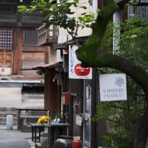 DAHONで行く、レトロ松應寺横丁の小路