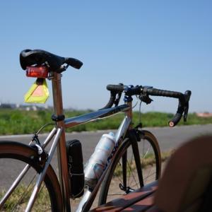 久しぶりのロードバイクは初夏の陽気、矢作川ロング