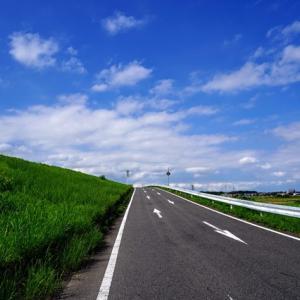 夏の空の色がいいから、矢作川ロング