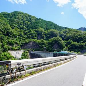矢作ダムを見上げたい、そんな場所から見える場所