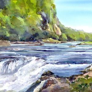 6月3日の水彩画